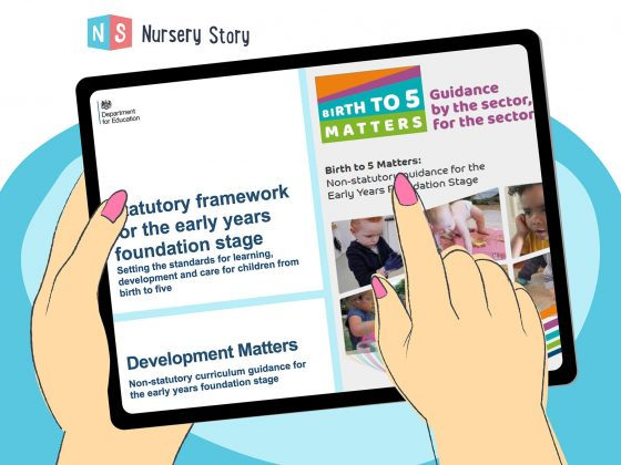 EYFS and Birth to five matters